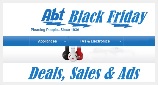 ABT Electronics Black Friday Deals, Sales
