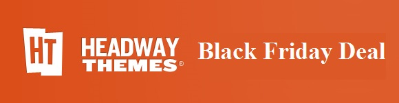 Headway theme black Friday