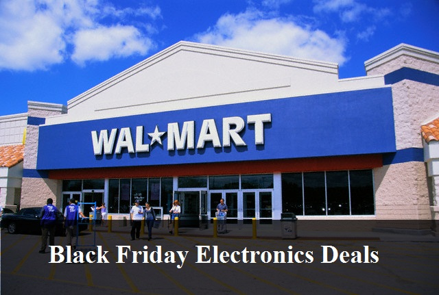 Walmart Black Friday Electronics Deals 2018