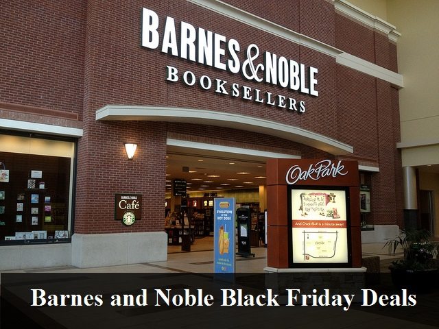 Barnes and Noble Black Friday 2018 Deals & Sales