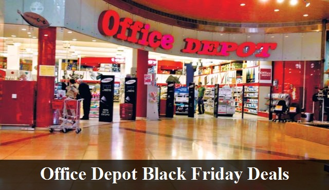 Office Max & Office Depot Black Friday 2019 Deals & Sales