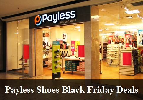 Payless Shoes Black Friday 2019 Sale & Deals