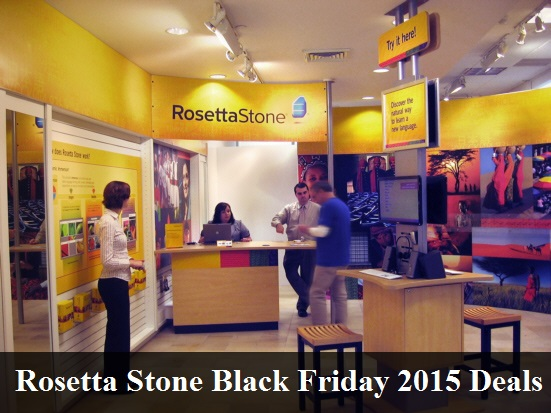 Rosetta Stone Black Friday 2019 Deals & Sales