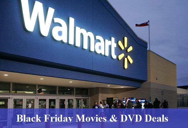 Walmart Black Friday Movies & DVD Deals 2020