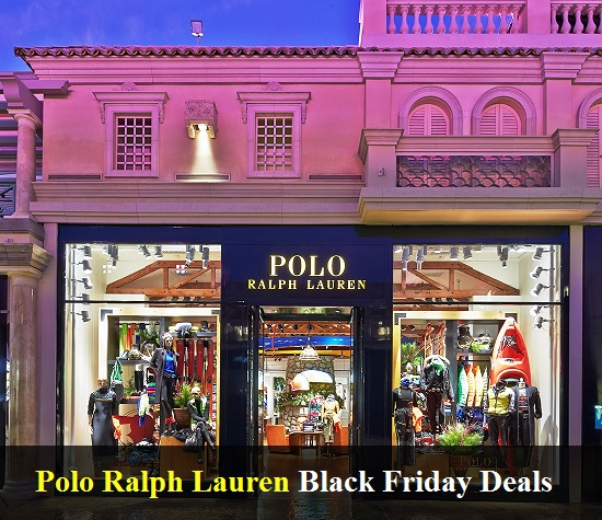 Polo Ralph Lauren Black Friday 2020 Deals & Sales