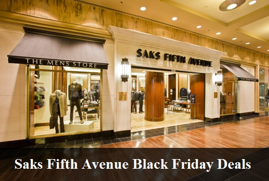 Saks Fifth Avenue Black Friday 2020 Deals & Sales