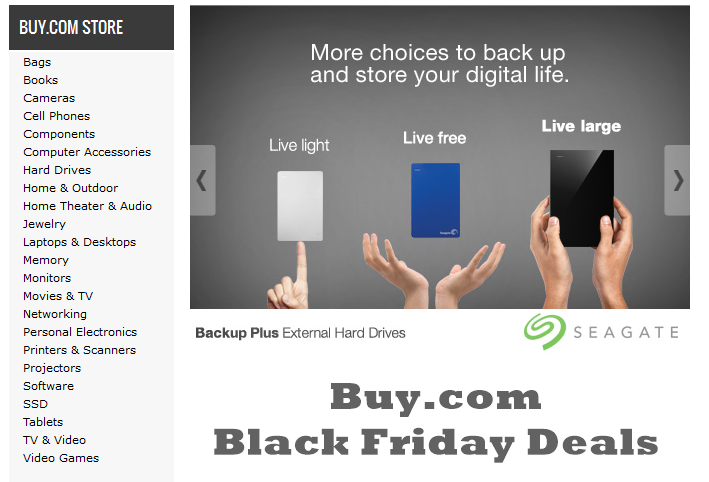 Buy.com Black Friday Deals, Sales & Ads