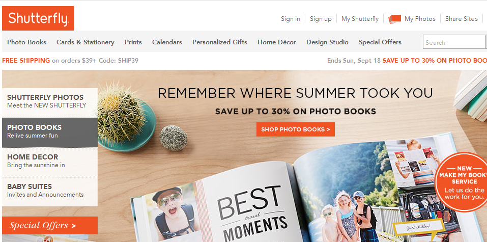 Shutterfly Black Friday Deals, Sales & Ads